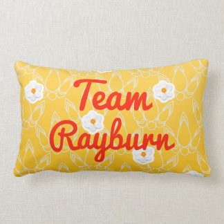 Team Rayburn Throw Pillow
