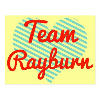 Team Rayburn Postcards