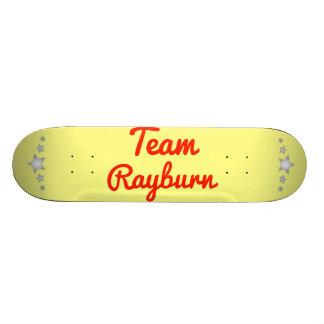 Team Rayburn Custom Skate Board