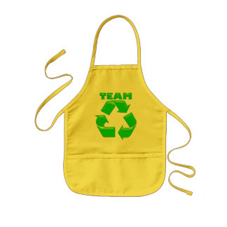 Team Recycle Aprons