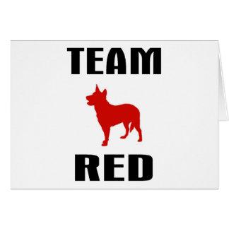 Team Red Card