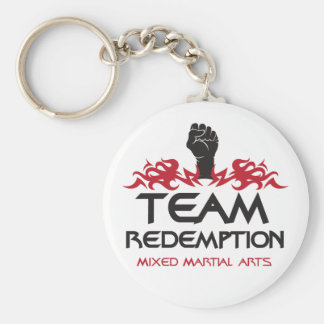 Team Redemption Round Key Chain