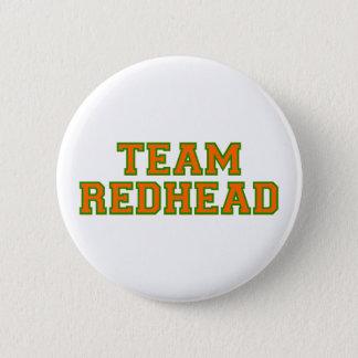 Team Redhead - Orange/Grn Button
