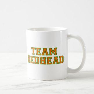 Team Redhead - Orange/Grn Classic White Coffee Mug