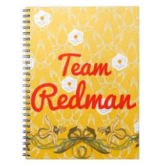 Team Redman Spiral Notebook