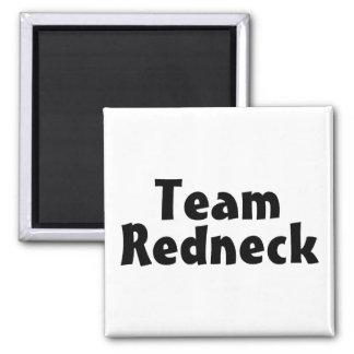 Team Redneck 2 Inch Square Magnet