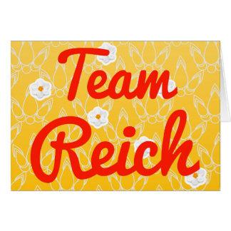 Team Reich Card