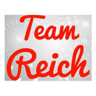 Team Reich Post Card