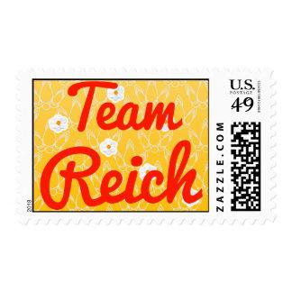 Team Reich Postage Stamps
