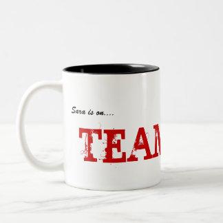 TEAM REID Two-Tone COFFEE MUG