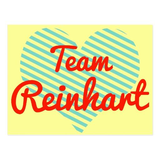 Team Reinhart Post Cards