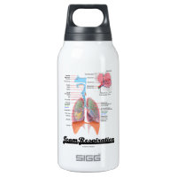 Team Respiration (Respiratory System) 10 Oz Insulated SIGG Thermos Water Bottle