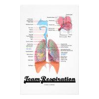 Team Respiration (Respiratory System) Stationery