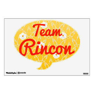 Team Rincon Room Decal