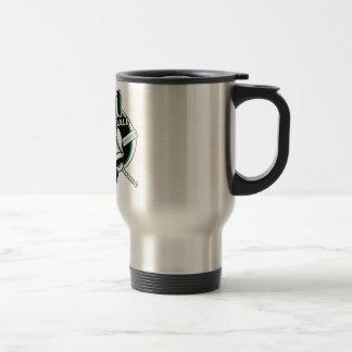Team Rival Logo Stainless Steel Travel Mug