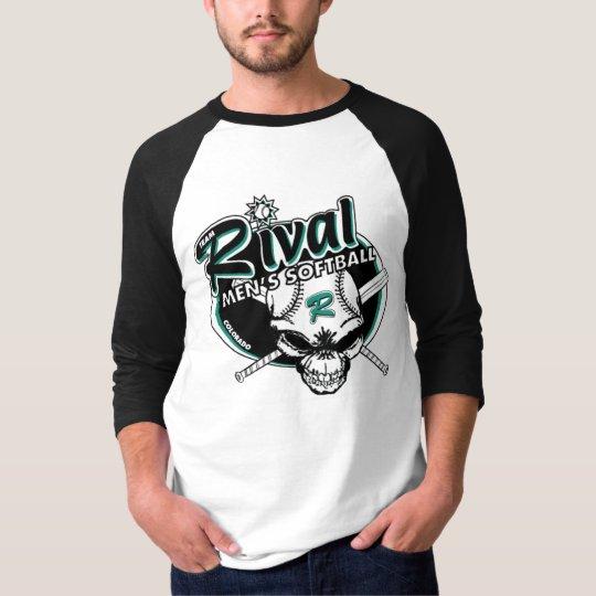 Team Rival Raglan (Gray/Black) T-Shirt