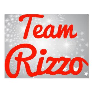 Team Rizzo Postcard