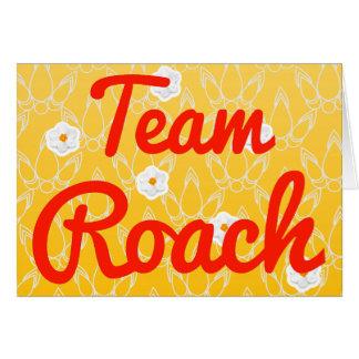Team Roach Greeting Cards