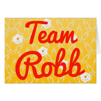 Team Robb Card