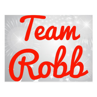 Team Robb Postcard