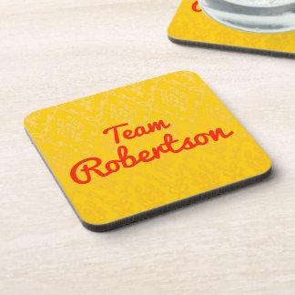 Team Robertson Drink Coaster