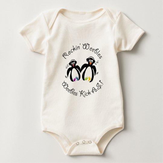 Team Rockin' Weebles Baby Bodysuit