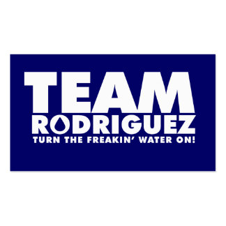 TEAM RODRIGUEZ BUSINESS CARD