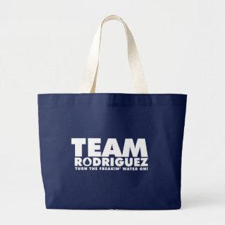 TEAM RODRIGUEZ LARGE TOTE BAG