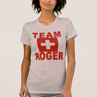 Team Roger with Swiss Flag T-Shirt
