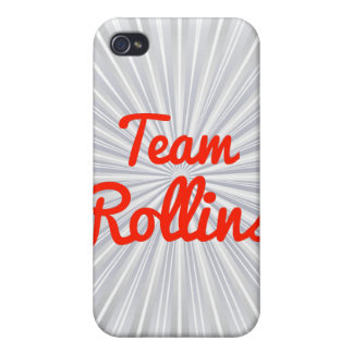 Team Rollins iPhone 4 Cover