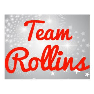 Team Rollins Post Card