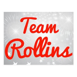 Team Rollins Postcard