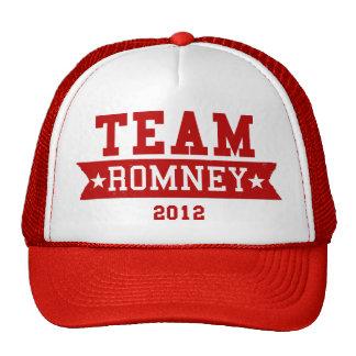 TEAM ROMNEY 2012 TRUCKER HAT