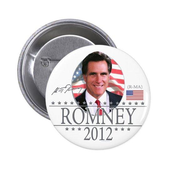Team Romney in 2012 Button