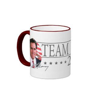 Team Romney in 2012 Ringer Mug