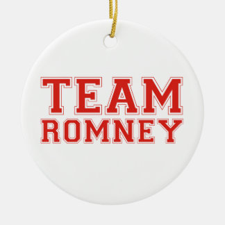TEAM ROMNEY CHRISTMAS TREE ORNAMENTS