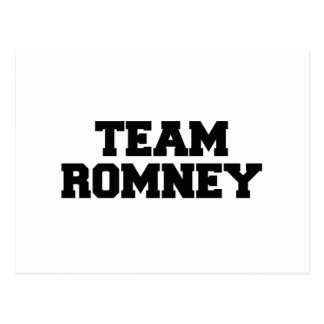TEAM ROMNEY png Post Cards