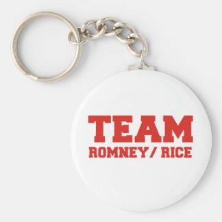 TEAM ROMNEY RICE VP TEAM png Key Chain