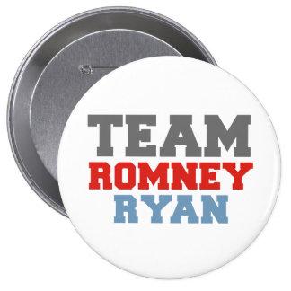 TEAM ROMNEY RYAN VP TEAM.png 4 Inch Round Button