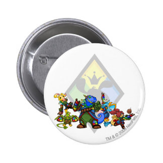Team Roo Island Group Pinback Button