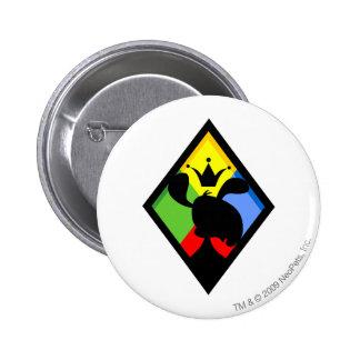 Team Roo Island Logo 2 Inch Round Button