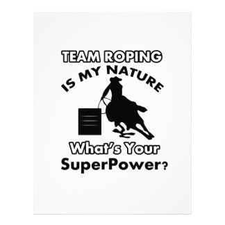 team rope design letterhead