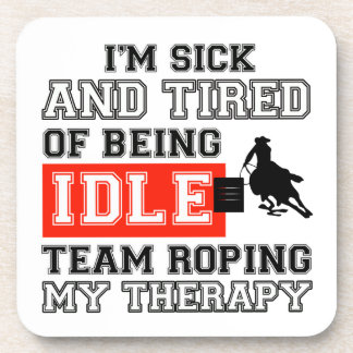 team rope my therapy beverage coaster
