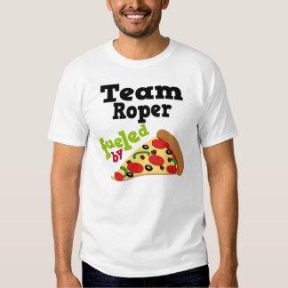 Team Roper (Funny) Pizza T Shirt