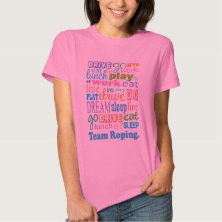 Team Roper Gift For Woman T-Shirt