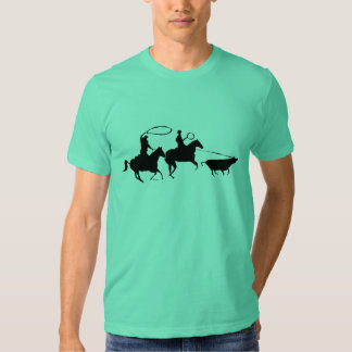 team ropers 100 t shirt