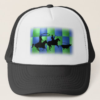 team ropers 101 trucker hat