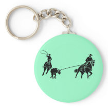 Team Ropers 200 Keychain