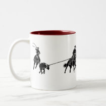 Team Ropers 200 Two-Tone Coffee Mug