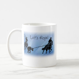 team ropers 201 coffee mug